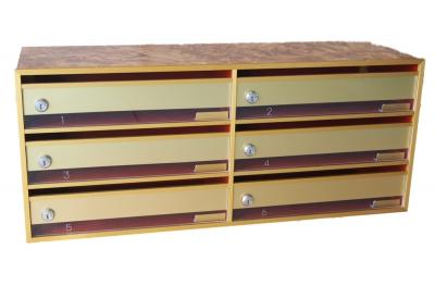 Mailbox Indoor Fiber MDF Taietti CTS
