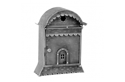 810 Galbusera Wall Mail Box Artistic Wrought Iron