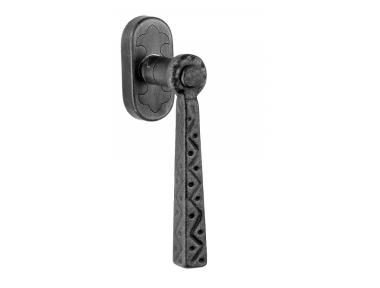 82 Galbusera Dry Keep Window Handle Artistic Wrought Iron