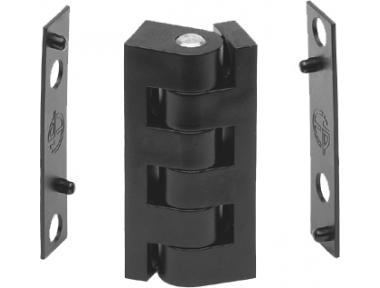 Hinge 48mm thickness 1mm Complanare Closing Window Mini ESINPLAST