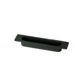 The window handle Sliding Medal recessed tray 4S Black Nylon