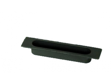 The window handle Sliding Medal recessed tray 4S Black Nylon
