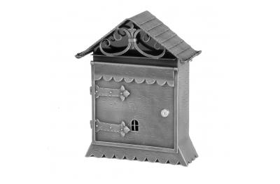 988 Galbusera Wall Mail Box Artistic Wrought Iron
