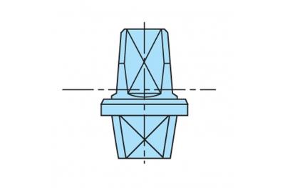 Pin Framework MAB Italy Closers Series 7700 Galvanized