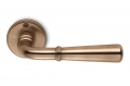 Accademia Bronze Door Handle on Rosette Perfect for Countryside House by Antologhia