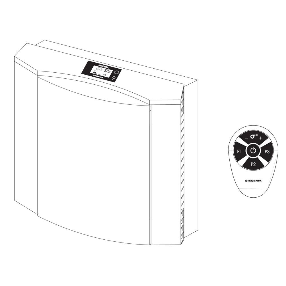 Aerovital Siegenia Pack of 2 Replacement Filters