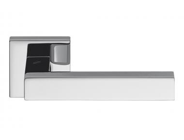 Ellesse Polished Chrome Door Handle on Rosette Studio Bartoli for Colombo Design
