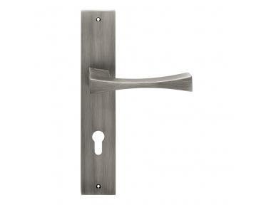 Artemide Series Fashion forme Door Handle on Plate Frosio Bortolo Made in Italy Design