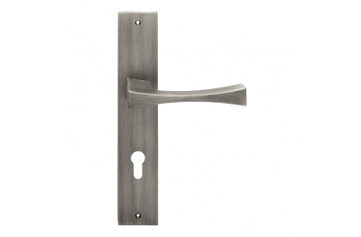 Artemide Series Fashion forme Door Handle on Plate Frosio Bortolo Made in Italy Design