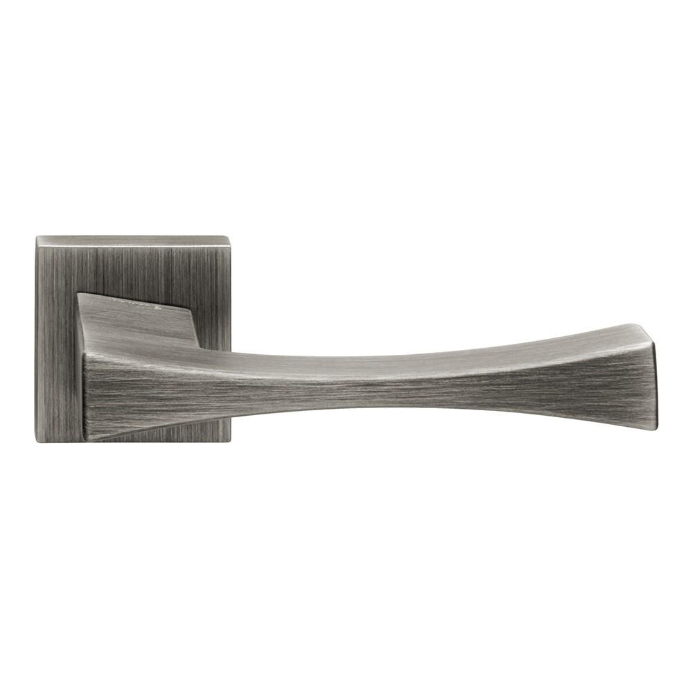 Artemide Series Fashion forme Door Handle on Square Rosette Frosio Bortolo Made in Italy Design