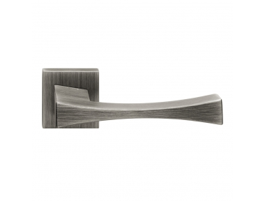 Artemide Series Fashion forme Door Handle on Square Rosette Frosio Bortolo Made in Italy Design