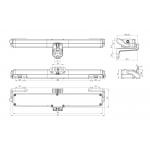 Kato 253 Nekos Chain Actuator 230V 250N Adjustable Stroke 240/360mm