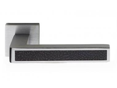 Barletta Leather Door Handle on Square Rosette Fashion Line PFS Pasini