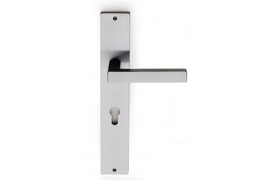 Barletta Brass Door Handle on Plate Fashion Line PFS Pasini