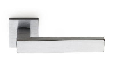 Barletta Door Handle on Square Rosette Fashion Line PFS Pasini