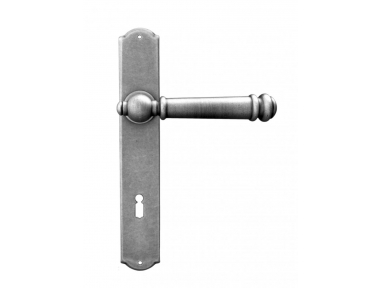 Bremen Galbusera Door Handle with Plate