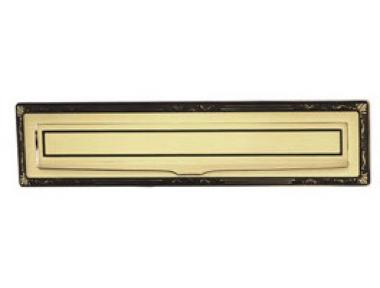 Brass Post Plate Sorriso PFS Pasini