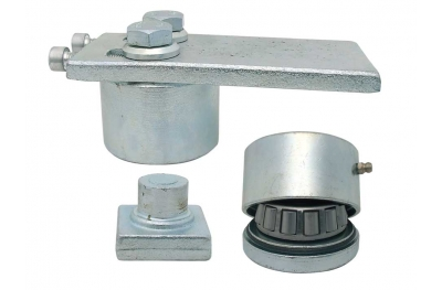 Ball Bearing Hinge for Gates Regulation Through Screw Ø50 IBFM