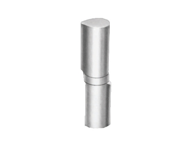 Hinge Borellona Savio in Section Eccentric from Weld Steel Polished