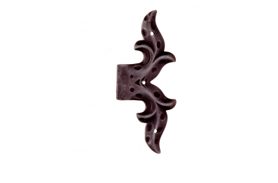 Feint Hinge with Plate 145x50mm for Windows and Doors Galbusera Wrought Iron