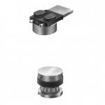 Pivot Hinge Stainless Steel Hinge with Bearing Ø48 Savio Adjustable
