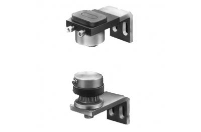 Pivot Hinge Hinge Ø48 with buttonholes and bearing Savio Adjustable for Gates