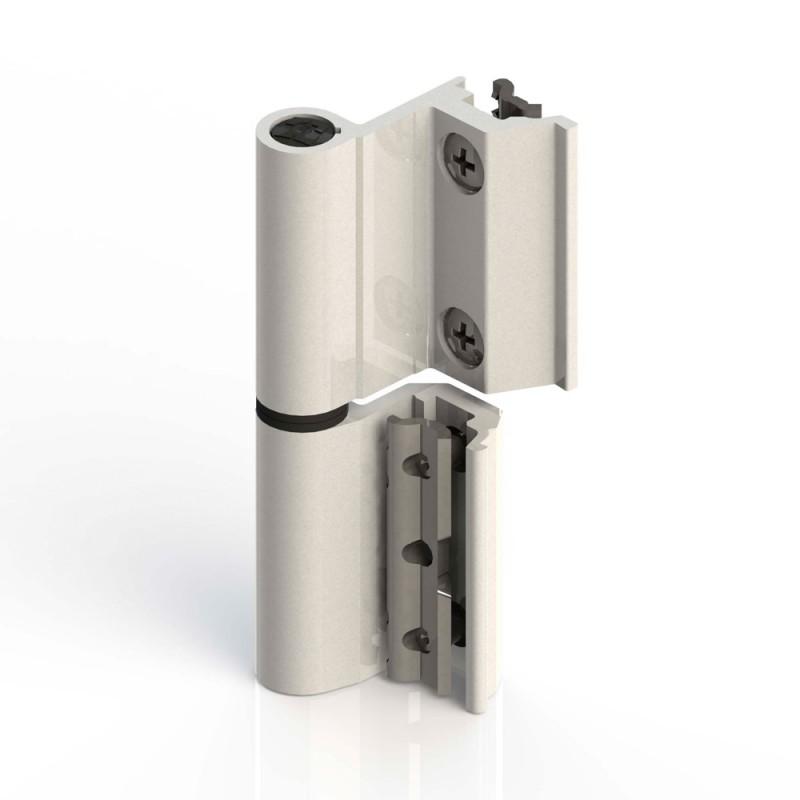 Flash hinge Giesse Base Series R for Aluminum