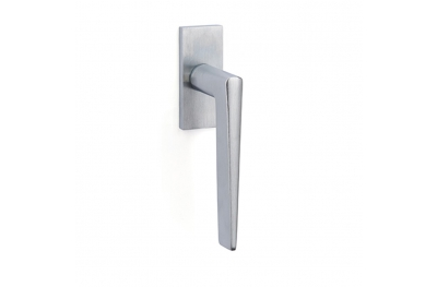 Cervinia Handle for DK window on Square Rose Brass Pfs Pasini i-Design