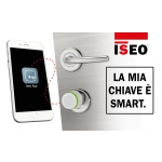 Libra Standard cylinder player and Knob Argo Iseo Opening with Smartphone App