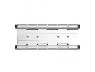 CMD180 Spring-Hinge With Double Action Capacity 20Kg in Aluminium Pettiti Giuseppe