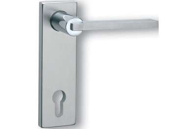 Ghidini Cartesio Q OCL-M4/F1 Lever Handle with Plate