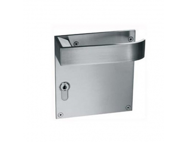 pba 2001.B.PLA Pair of Handles in Stainless Steel AISI 316L