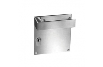 pba 2001.IT.PLA Pair of Handles in Stainless Steel AISI 316L