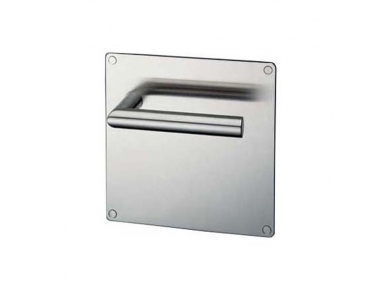 pba 2030/2001 Pair of Handles with Plate in Stainless Steel AISI 316L