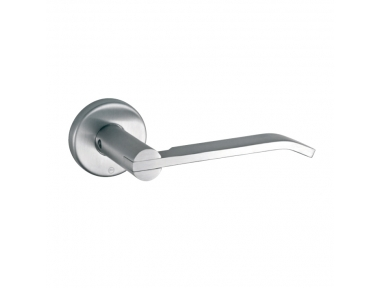 pba 2022T Pair of Lever Handles in Stainless Steel AISI 316L
