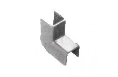 Cover plates for Regolini Glazing Savio 10mm Width Galvanized Steel