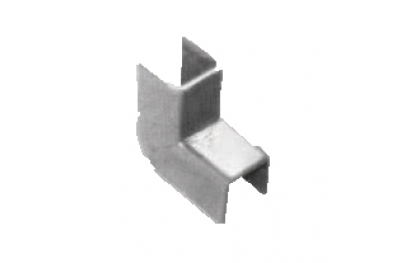 Cover plates for Regolini Glazing Savio 12mm Width Galvanized Steel
