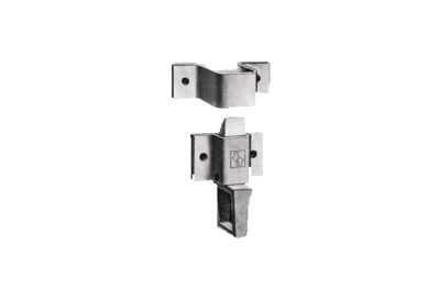 Ratchet Ponza by Savio Screw Latch in Zama drawer striker plate Steel