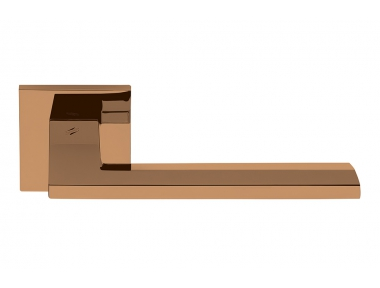 Electra Vintage Finish Door Handle on Rosette Manhattan Style by Colombo Design