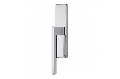 Electra Window Handle on Plate with Minimalist Style by Messineo Settimelli for Colombo Design