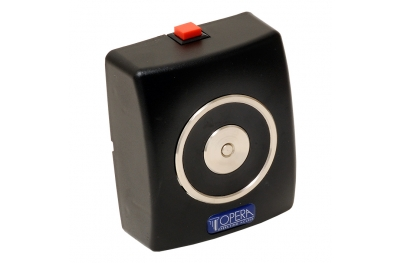 Hold Open Electromagnet Black with Push Button Release 19001 Opera