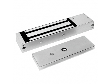 Electromagnetic Lock Maxi 600 Kg Anodized Aluminium 13000 Opera Safety Series