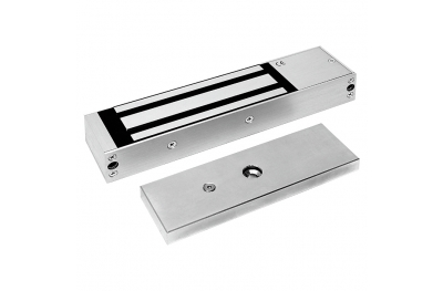 Electromagnetic Lock Maxi 600 Kg Anodized Aluminium 13000 Opera Safety Series