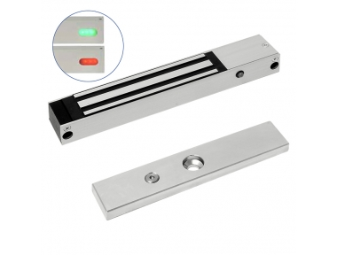 Micro Electromagnetic Lock with Sensor and LED 12800M Opera Safety Series