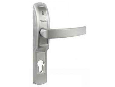 Electrically Operated Handle Matt Chrome for Metal Glass Fire Doors 40610 Opera