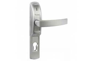 Electrically Operated Handle Matt Chrome for Metal Glass Fire Doors 40610 Opera