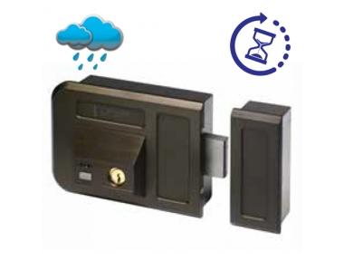 Bronze Electric Rim Lock With Key for Gates Doors 28001 Gate Lock Series Opera