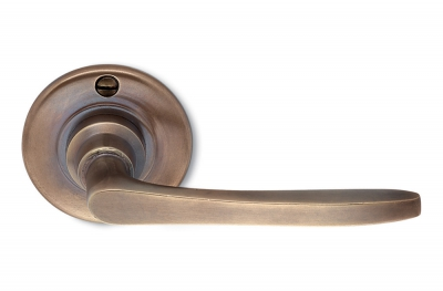 Firenze Bronze Door Handle on Rosette Perfect for Holiday Countryside House by Antologhia