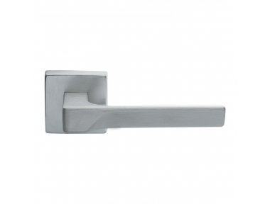 Flash Basic Manital Satin Chrome Pair of Door Lever Handles