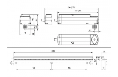 Flik Nekos Automatic System for Opening Sliding Doors